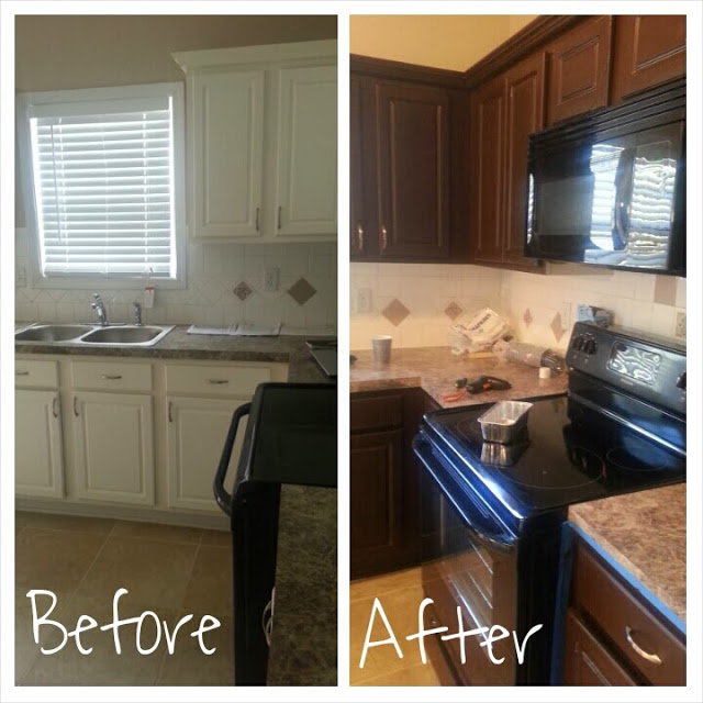 Kitchen Remodel On A Budget Before And After: How To Easily Remodel A Kitchen On A Budget: Before